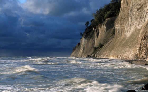 cliffs, ocean
