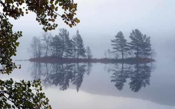 пейзаж, озеро