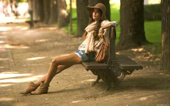 devushka, priroda, брюнетка, alonso, красотка, clara, шляпа,