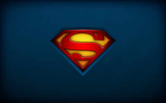 superman, wide, logo