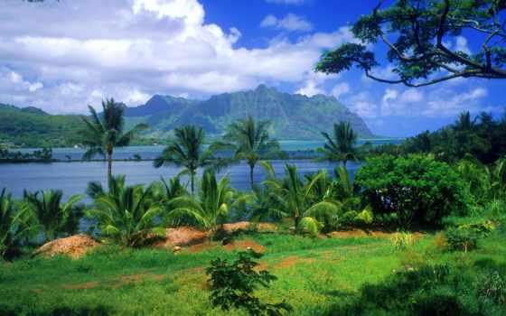 hawaii, тихого, земле, океана, мест, острова, самых, usa, прекрасных, остров, гавайские,