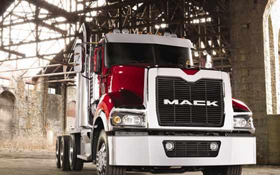 mack, truck, trucks