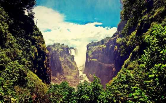 красивые, самые, места, нашей, водопады, планеты, природа, красивых,