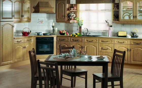 кухни, кухня, dizain, мебель, villa, стиле,