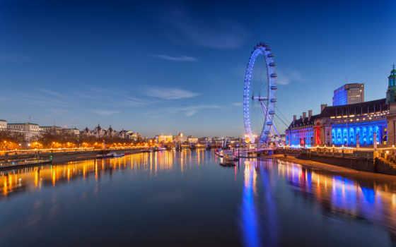 london, колесо, обозрения Фон № 125764 разрешение 2880x1800