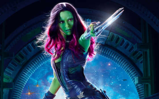 gamora, guardians, galaxy, vol, marvel, movies,