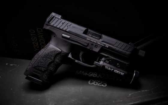 пистолет, firearm, фонарик, оружие, принадлежность, iphone, video, tactical