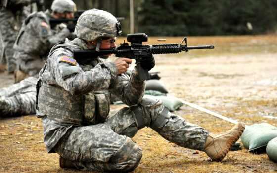 винтовка, карабин, армия, военный, assault, оружие