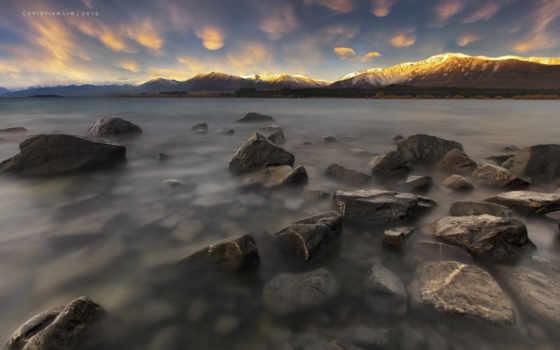 озеро, горы, природа Фон № 38560 разрешение 1920x1200
