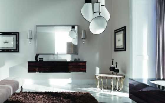 белая комната, мебель