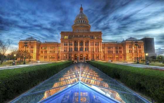 building, texas, капитолий