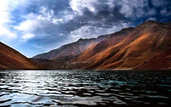горы, landscape, озеро, пейзажи -, небо, красивый, природа, скалы, море,