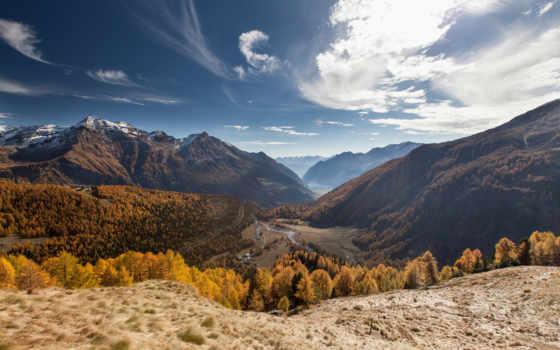 альп, grum, canton, швейцария, graubunden, изображение, mountains,