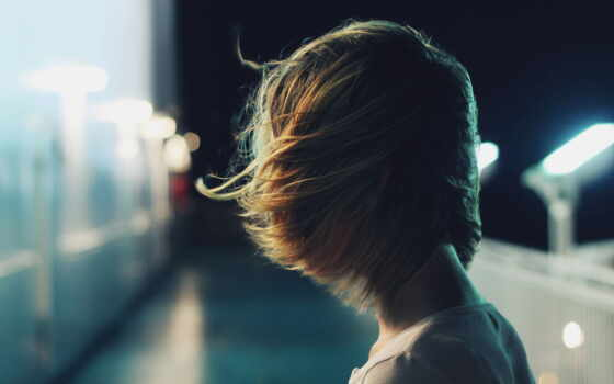 девушка, волосы, short, спина, браун, ava, brunette, красивый