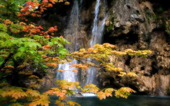 водопады, природа, godafoss