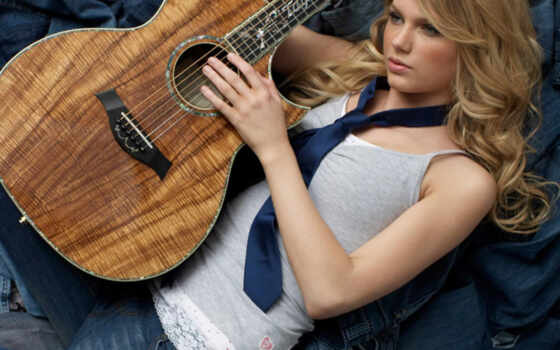 taylor, swift, гитара