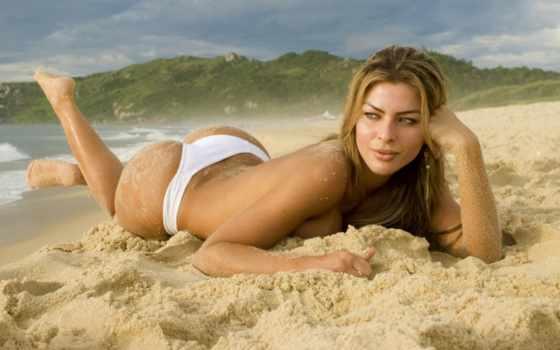 gabriela, paganini, модель, пляж, море, песок,
