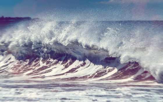 волна, морская