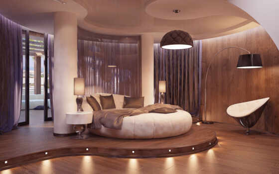 bedroom, bed, futuristic, modern, round, ديكورات, design, great, phòng, via, ideas, ngủ, ремонт,