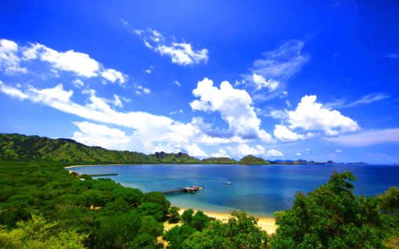 пейзаж, комодо, остров, природа, фабрика, picsfab, картинок, изображение,