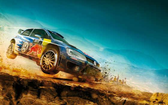 dirt, rally, игры