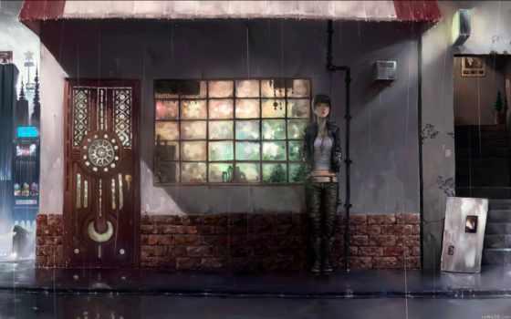 coffee, tokyo, ghoul, магазин, uhd, anime, outside, pixelz,