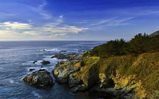 park, state, garrapa, побережье, ocean, море, rock, club, полночь, california, postcard