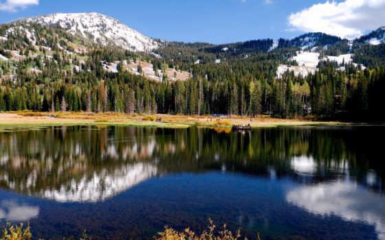 гор, природа, пейзажи -, landscape, кыргызстана, больших, очень, снежных, часть,