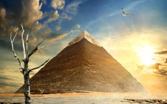 пирамида, картинка, египетский, биг, modular, купить, магазин, пустыня, небо