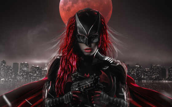 batwoman, ruby, взлёт
