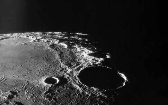 кратер, лунный