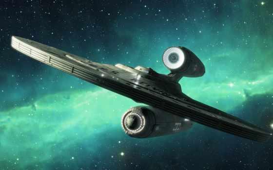корабль, космический, trek