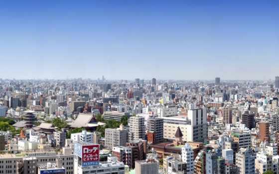 tokyo, япония, панорама