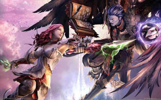 anime, fantasy, битва