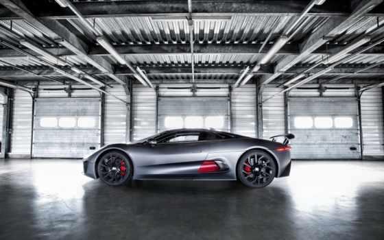 jaguar, prototype, hybrid, суперкар, суперкар, машина,