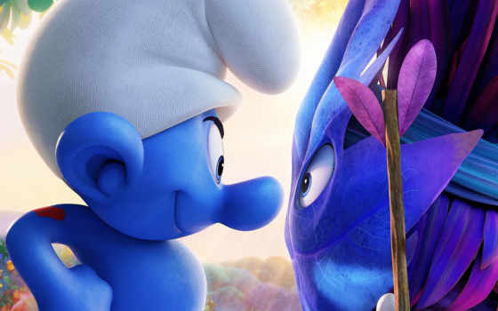 smurfs, деревня, lost, плакат, movie, trailer, gallery,