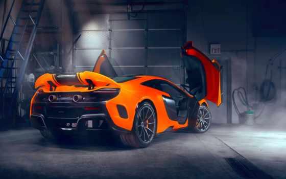 mclaren, оранжевый,, cars, спорткар,,