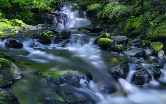 ручей, река, водопад, plus, desktop, yang, jogja, hotel,
