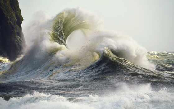 краска, ocean, medium, применять, пляж, russian, water, след, human