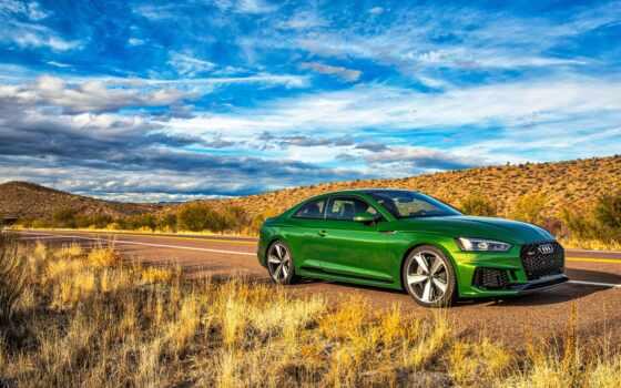 coupe, car, зелёный, ауди, fond, coop
