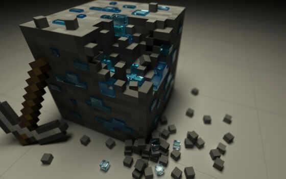 minecraft, pixelart