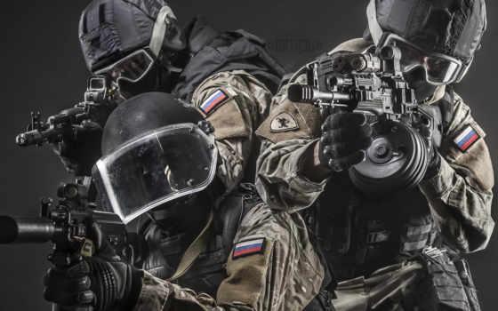 оружие, автомат, штурмовая винтовка, оптический прицел, солдаты, экипировка, спецназ, очки, каски, глушитель