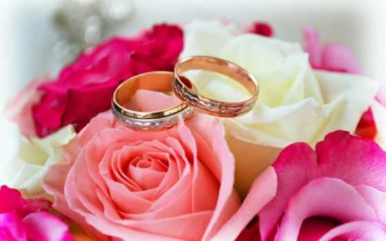 roses, букет, ринг, свадебный, flowers, marriage, celebration,