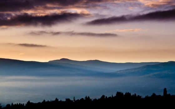 full, desktop, best, широкоформатные, туман, природы, ночь, природа,