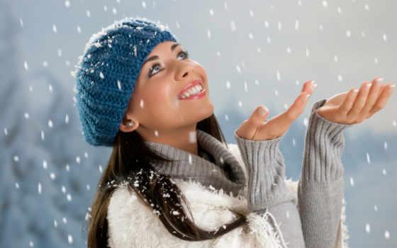 winter, devushki, красивые, зимой, красивая, снежинки, красивы, женя, особенный, янковского, олега,