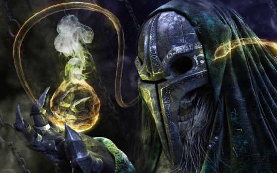 маска, когти