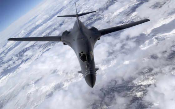 lancer, bomber, самолёт, rockwell, картинку, картинка, desktop, free, nevada, plane, мыши, кнопкой, air,