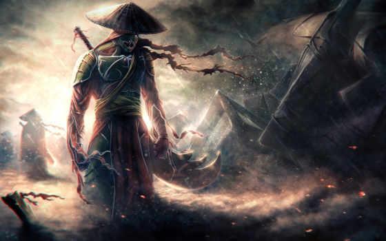 самурай, меч