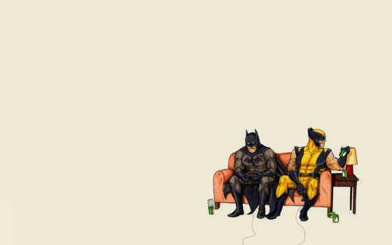 batman, комикс, минимализм