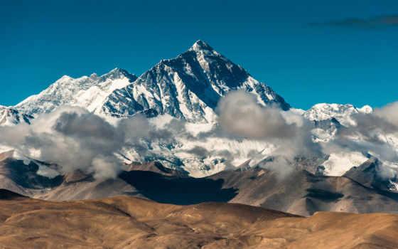 everest, tibet, джомолунгма, гора, гималаи,